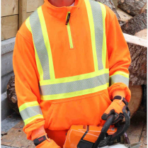 Tough Duck 1/4 Zip Safety Pullover