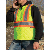 Tough Duck Quilted Safety Vest