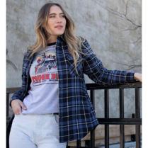Tough Duck Women's Quilt Lined Flannel Shirt