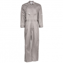 Topps 88/12 Cotton/Nylon Blend Flame Resistant Lightweight Economy Oil Field Coverall
