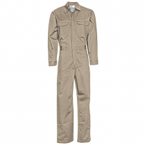 Topps 88/12 Cotton/Nylon Blend Flame Resistant Lightweight Economy Coverall