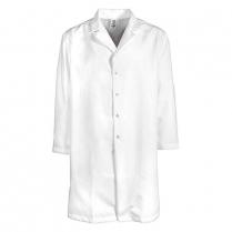 Pinnacle Health 65/35 Men's Gripper Snap No Pocket Lab Coat