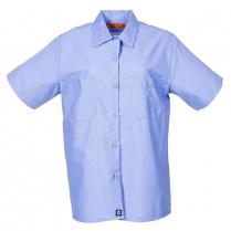 Pinnacle Worx 65/35 Women's Short Sleeve Industrial Work Shirt