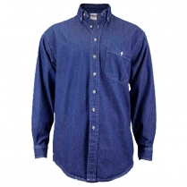 Union Line Men's Long Sleeve Denim Shirt