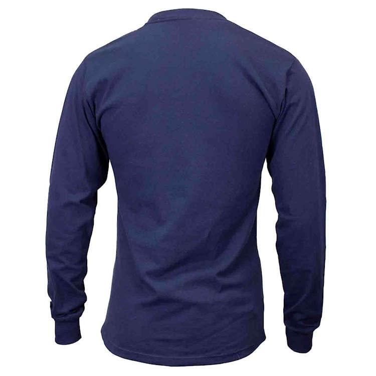 Union Line 5.4 oz. Long Sleeve Tee Shirt No Pocket