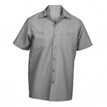 Universal Overall 100% Cotton Wrinkle Resistant Short Sleeve Shirt