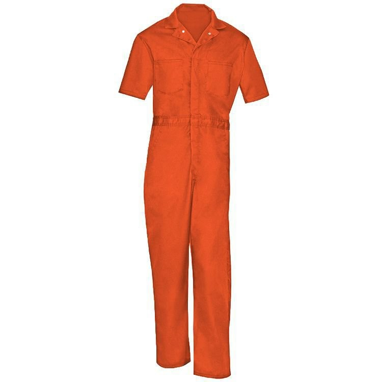 Universal Overall 65% Polyester/35% Cotton Action Back Coverall