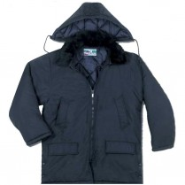 United Pioneer 34-inch Zip-Off Hood Parka with Dual Collar