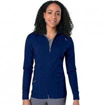 Urbane Women's Align Zip Front Mock Neck Warm Up Jacket