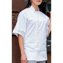 Uncommon Threads Monterey Knot 10 Knot Twill Chef Coat