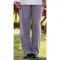 Uncommon Threads Classic Baggy Chef Pant with 2-inch Elastic Waist