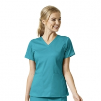 WonderWink PRO Women's 4 Pocket V-Neck Top