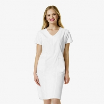 WonderWink Whiskey -Women's Partial  Zip Front Dress