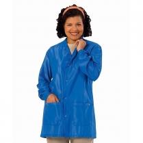 Worklon ESD Lapel Collar Lab Jacket w/Wrist Snaps - Work-Stat