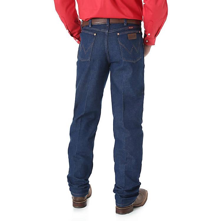 Wrangler Men's Cowboy Cut Original Relaxed Fit Jean