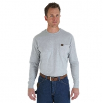 Wrangler Riggs Workwear Rugged Wear Long Sleeve T-Shirt
