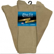 Extra Wide Sock Co Extra Wide Easy Fit Dress Socks - 3 Per Bag