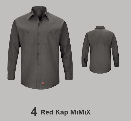 RED KAP MIMIX SHIRTS