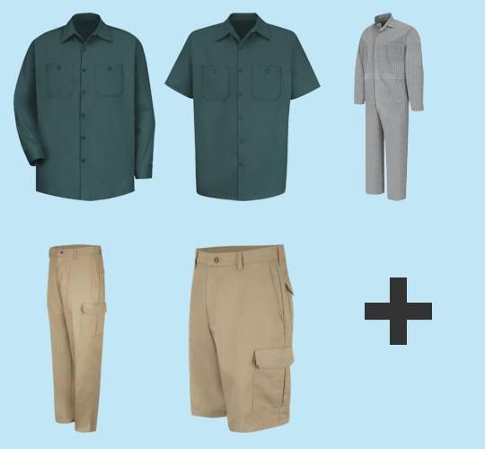 100% Cotton Industrial Workwear