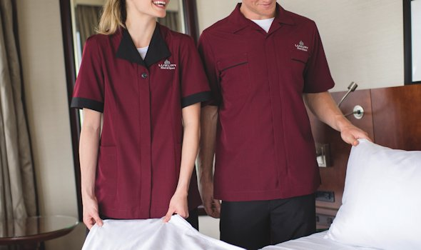 Build a Uniform Workshop - Edwards Pinnacle Housekeeping Collection