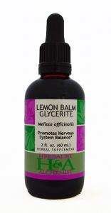 Lemon Balm Glycerite