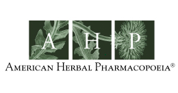 American Herbal Pharmacopoeia logo
