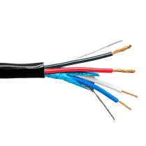 Provo Home Control 22-2c Low Cap STR FL SH + 18-2 STR UNSH CSA CMG FT4 UL RoHS – Black JKT