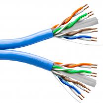 Provo UTP Dual Cable 23-4pr SBC UNSH CAT6 550MHz CSA FT4 UL RoHS – Blue JKT