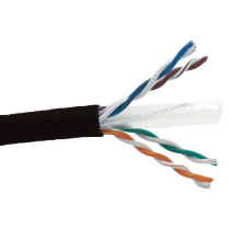 Provo UTP Cable 23-4pr SBC UNSH CAT6 550MHz CSA FT4 UL RoHS – Black JKT