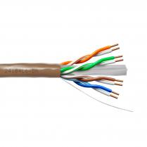 Provo UTP Cable 23-4pr SBC UNSH CAT6 550MHz CSA FT4 UL RoHS – Brown JKT