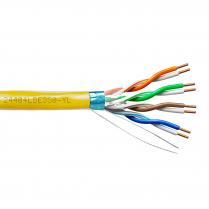 Provo STP Cable 24-4pr SBC FL SH CAT5E 350MHz CSA FT4 UL RoHS – Yellow JKT