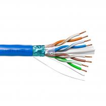 Provo STP Cable 23-4pr SBC FL SH CAT6 550MHz CSA FT4 UL RoHS – Blue JKT