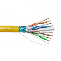 Provo STP Cable 23-4pr SBC FL SH CAT6 550MHz CSA FT4 UL RoHS – Yellow JKT