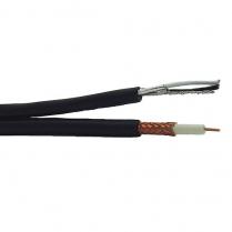 Provo Siamese RG6U 18 AWG SBC 95% BRD SH + 18-2c FL SH Control Cable CSA FT1 UL RoHS – White JKT