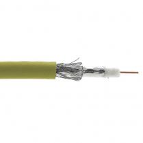 Provo RG6U 2200MHz 18 AWG 100% FL SH + 40% AL BRD SH CSA FT4 UL RoHS – Light Olive Grey JKT