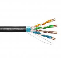Provo STP Cable 24-4pr SBC FL SH CAT5E 350MHz CMP CSA FT6 UL RoHS – Black JKT