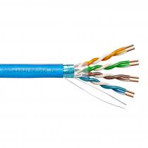 Provo STP Cable 24-4pr SBC FL SH CAT5E 350MHz CMP CSA FT6 UL RoHS – Blue JKT