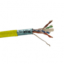 Provo STP Cable 24-4pr SBC FL SH CAT5E 350MHz CMP CSA FT6 UL RoHS – Yellow JKT
