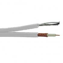 Provo Plenum Siamese RG6U 18 AWG SBC 95% BRD SH + 18-2c FL SH Control Cable CSA FT6 UL RoHS – White JKT