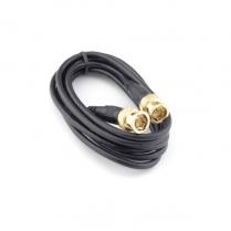 Provo BNC Plug to BNC Plug GOLD ENDS - 6ft.