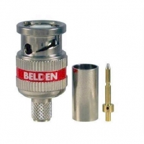 Belden 3pc RG59 BNC HD Connector – 50 pcs