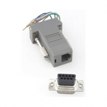 Provo Computer Adaptor 9 pin Female to 6P6C Mod. Jack