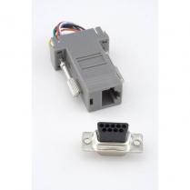 Provo Computer Adaptor 9 Pin Female to 8P8C Mod. Jack