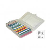 "Circuit-Test HeatShrink Kit 2:1 Color 160 pieces of 4"" lengths"