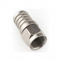 Provo F-Type RG6 Crimp-On Connector Male - One Piece