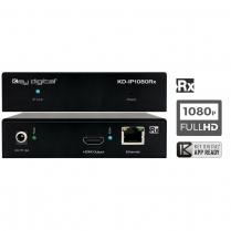 Key Digital HDMI Over IP w/POE (Rx) Receiver w/Redundant Power