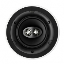 """KEF 6.5"""" Round Dual Stereo InCeiling Ultra Thin Bezel"""