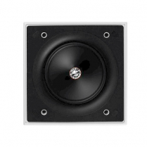 """KEF 6.5"""" Square InWall And InCeiling Ultra Thin Bezel Design"""