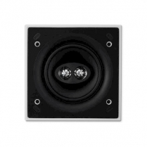 """KEF 6.5"""" Square Dual Stereo InCeiling And InWall Ultra Thin Bezel"""