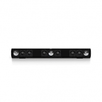 """KEF 3 Channel Sound Bar 42""""+ Screens 100w Wall/Table Mount"""